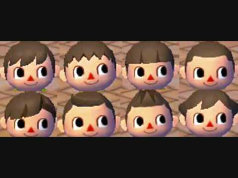 Animal Crossing City Folk Boy Hairstyles Sneak Peak Not