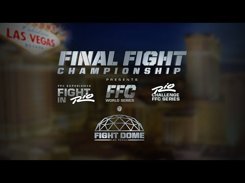 Final Fight Championship® (FFC®) trailer