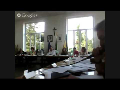 Consiglio comunale del 29/09/2014 - Monte Porzio Catone