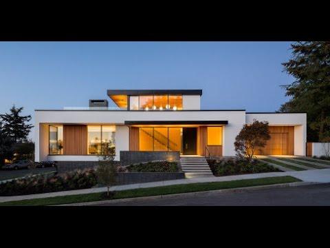 Planos de casa de un piso moderna - YouTube