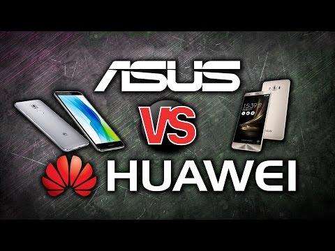 ASUS vs Huawei. Тест Zenfone 3 против Nova Plus - софт, камера, глюки (очень подробное видео)