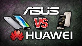 ASUS vs Huawei. Тест Zenfone 3 против Nova Plus - софт, камера, глюки очень подробное видео