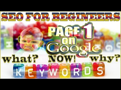 Search Engine Optimization for Beginners 🔝 SEO Introduction 🔍 Why do Keyword Research 🎿