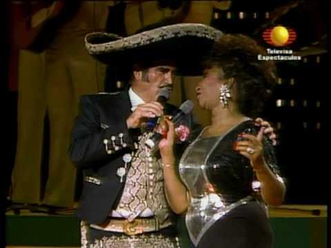 Celia Cruz y Vicente Fernández - El Rey