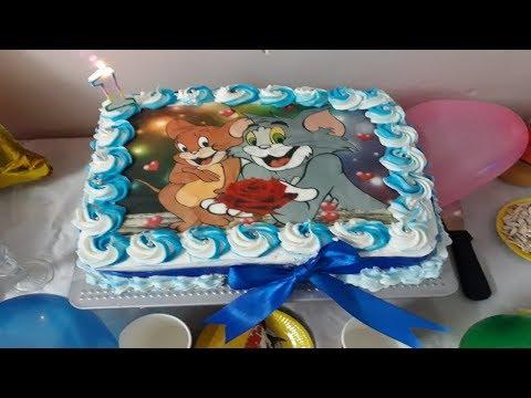 كيكة-عيد-الميلاد-gâteau-d'anniversaire