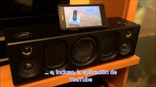 SONY SRS-X9, así funciona el altavoz inalámbrico de Sony