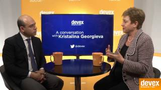 Commissioner Kristalina Georgieva on the future of humanitarian work