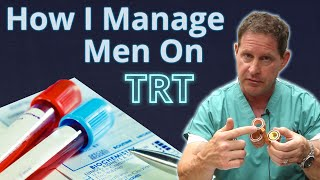 How I Manage Men on Testosterone Replacement Therapy (TRT)