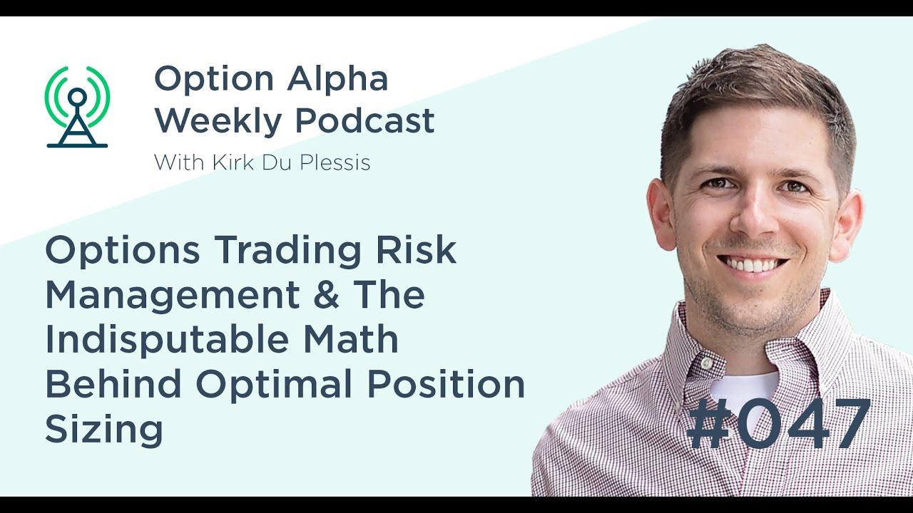 Math behind option trading