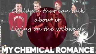 MY CHEMICAL ROMANCE - #SING IT FOR JAPAN ((+LYRICS))