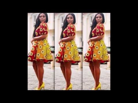 African fabrics short gowns