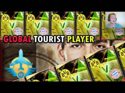 GLOBAL TOUR TOURIST PLAYER PULLED | FiFa Mobile | Dortmund vs Bayern Global Tour