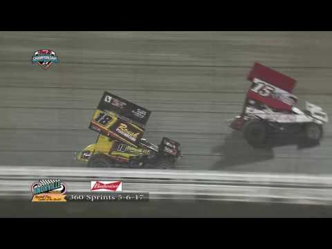 Knoxville Raceway 360 Highlights May 6, 2017