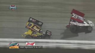 Knoxville Raceway 360 Highlights 5/6/17