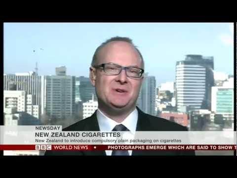 Martin Roll on BBC News 21 Feb 2013 (BBC Seoul studio)