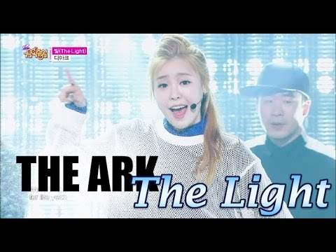 HOT THE ARK  The Light, 디아크  빛, Show Music core 20150418