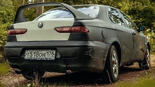 HOW I\'VE LOST 750$, Alfa Romeo 156. Cheap junk