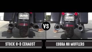 baggers sound off cobra neighbor hater slip on mufflers