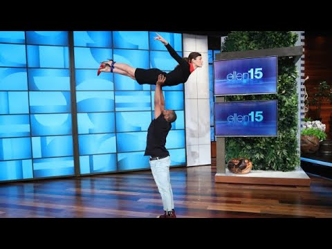 Jessica Biel's Amazing 'Dirty Dancing' Entrance Is Ellen's Best One Yet