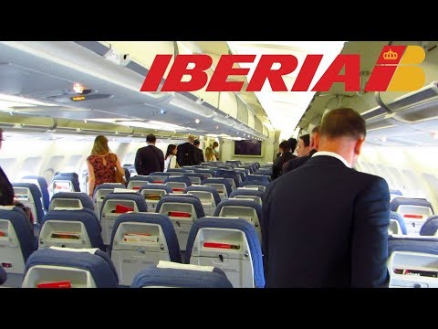 TRIP REPORT | IBERIA A340-300 | Madrid to London Heathrow | Economy Class [Full HD]