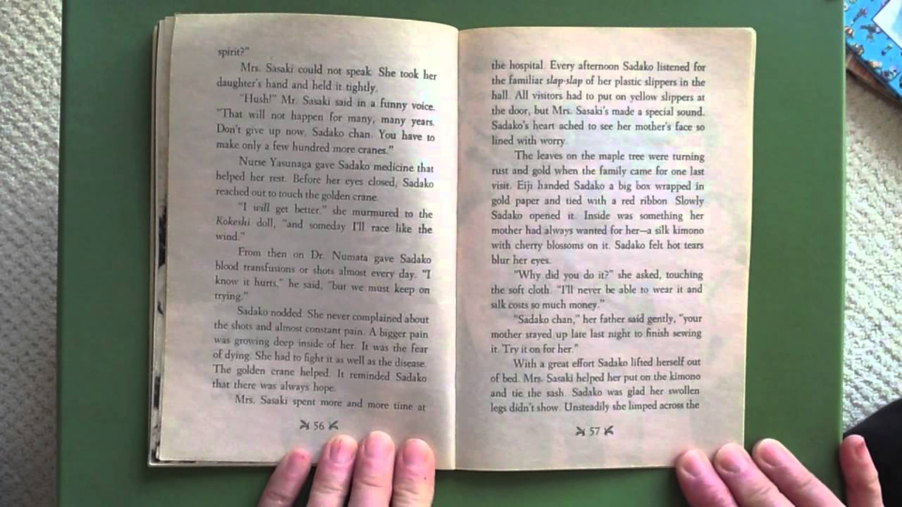 A Thousand Paper Crane Book Report