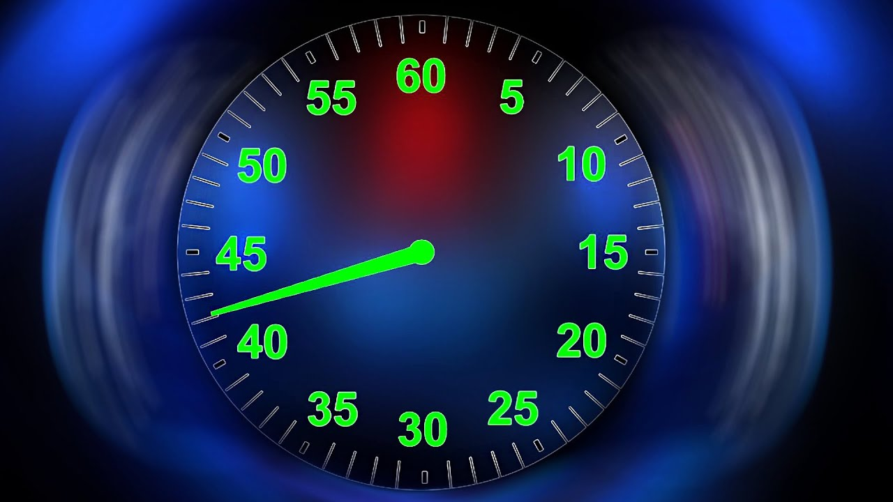 60 seconds countdown clock timer   v  57   with sound