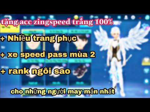 ZingSpeed Mobile | Tặng Nick ZingSpeed Mobile Miễn Phí Cho Người Nhanh Tay