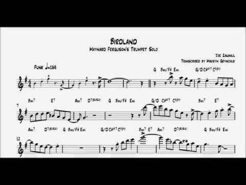 Maynard Ferguson - Birdland Trumpet Solo
