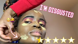 I WENT TO THE WORST REVIEWED MAKEUP ARTIST IN MY CITY ( EVERYTHING WENT WRONG)