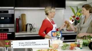 Kim's Fresh Thai Prawn Noodle Salad & Dip Recipe- What To Cook