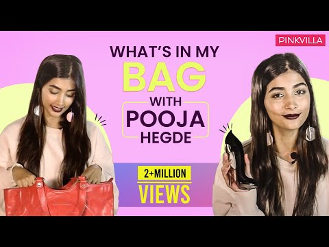 What's in my bag with Pooja Hegde  S01E09  Pinkvilla  Bollywood  Fashion  Lifestyle