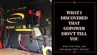 The whole truth about Go Power inverter/chargers.