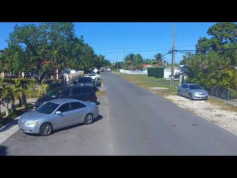 Flying Over Hialeah Miami Florida with a Drone