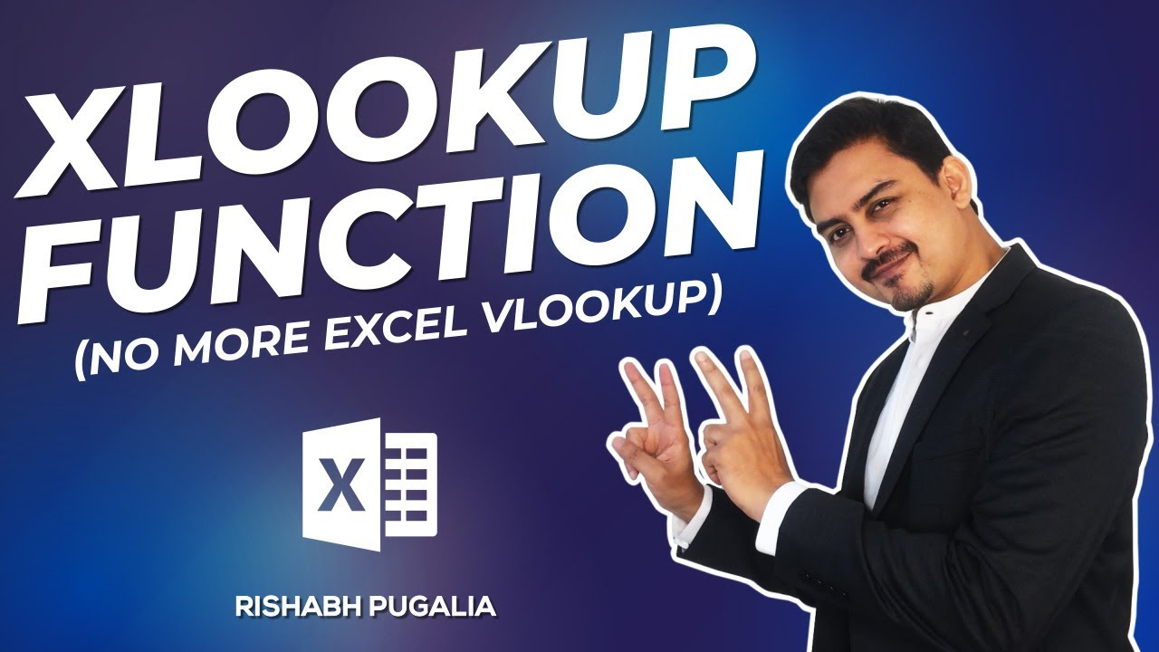 MS Excel - A to Z of XLOOKUP Formula   Excel in Hindi