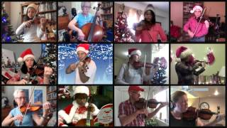 Fiddlerman's 2015 Group Christmas Project - Happy Christmas - War Is Over