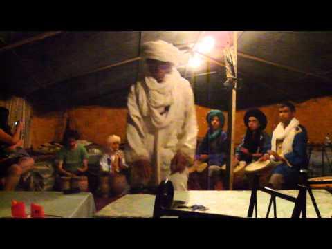 Sahara desert Bedouin tent experience with camel trek