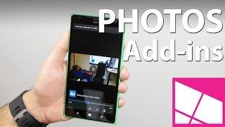 تطبيق Photos Add-ins يكشف وحدة التصوير في ويندوز موبايل 10
