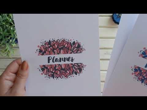 Электронные странички для Планнера своими руками, мои впечатления от курса - сплошь болтовня.