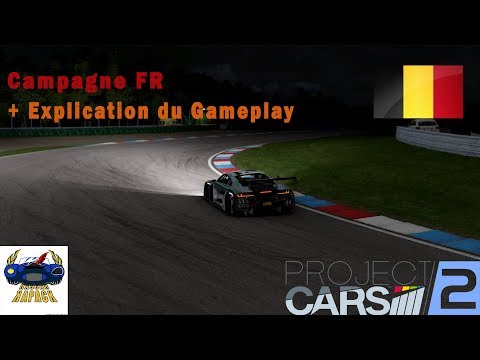 Project Cars 2 - Audi R8 LMS - Brno - Campagne + explication du gameplay (Let