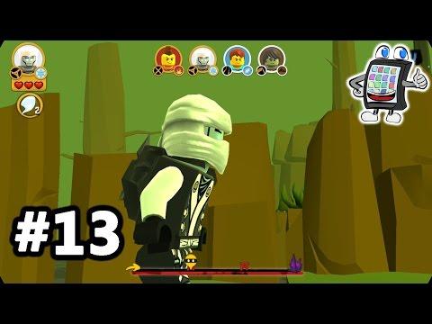 LEGO NINJAGO Deutsch WU CRU #13 - ZANE IST IN GEFAHR! Spiel mit mir Apps und Games
