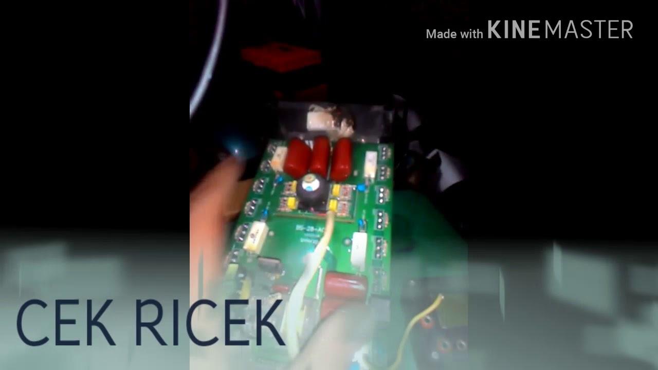 Service Mesin Las Lampu Oc Nyala Youtube Rilon Arc 160 Inverter Ac 220v 1 Phase Mma