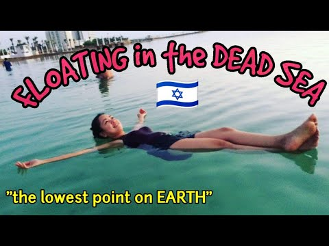 DEAD SEA In ISRAEL - The Lowest Point On Earth