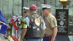 Memorial Day 2010 - Jacksonville, Florida at the Veterans Memorial Wall
