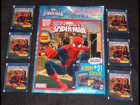 ultimate-spider-man-panini-sticker-collection