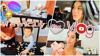 Weekly Mom Vlog | 100th Day Of School + Mini Drugstore Haul