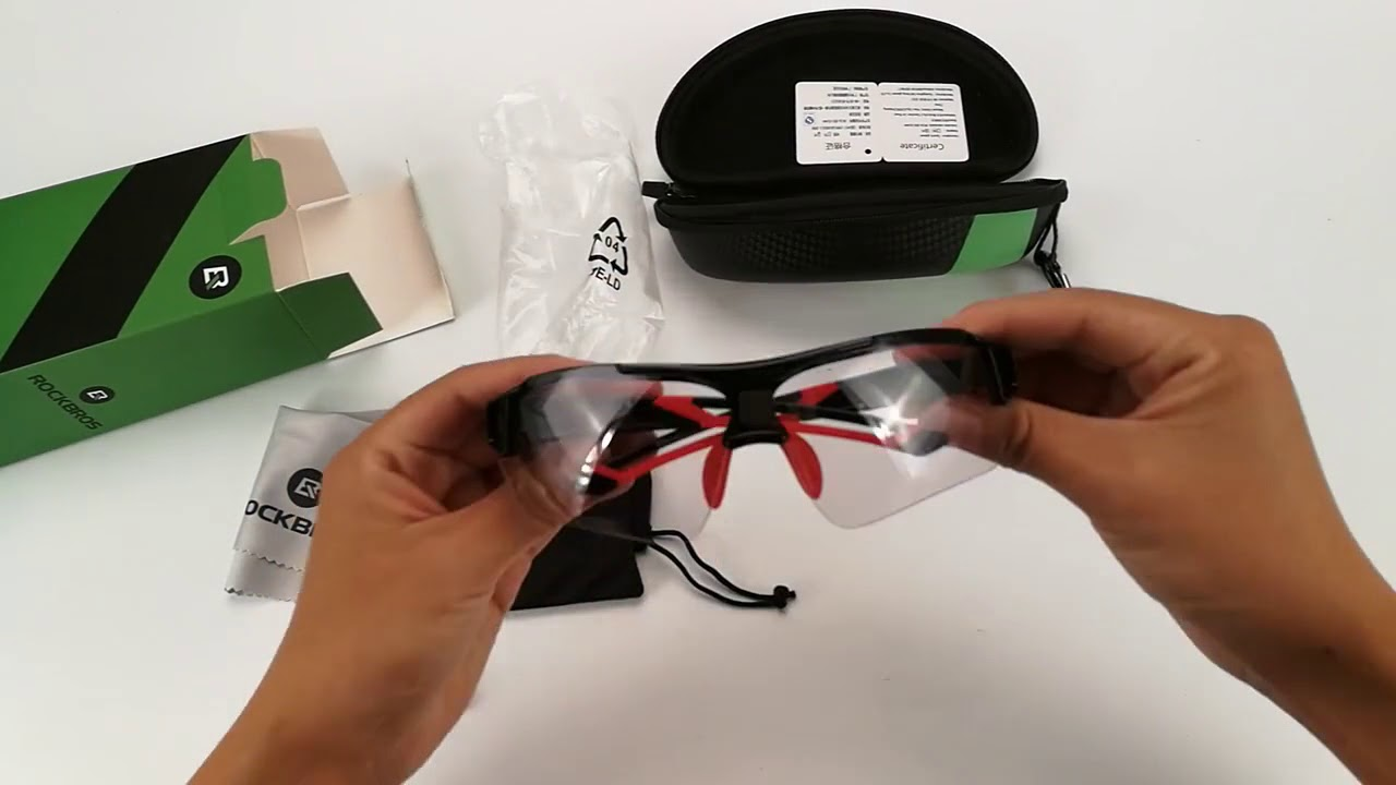 9dc89d0ef762e oculos rockbros fotocromatico original ciclismo - YouTube