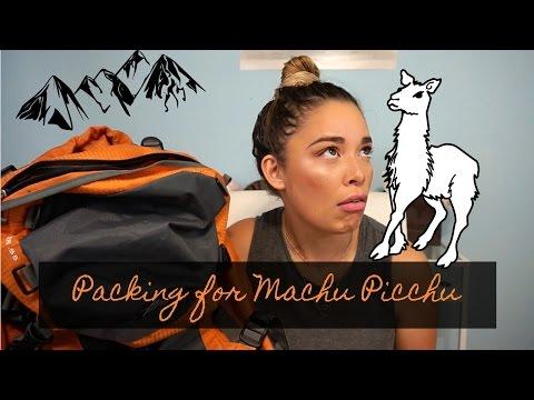 Packing for Peru | MACHU PICCHU TREK