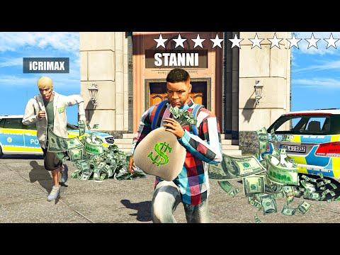 WIR RAUBEN EINE BANK AUS  mit iCrimax! GTA 5 RP