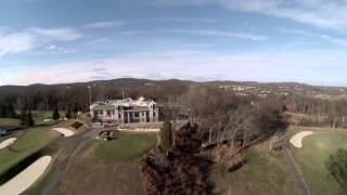Drone Above The Knoll Golf Course NJ