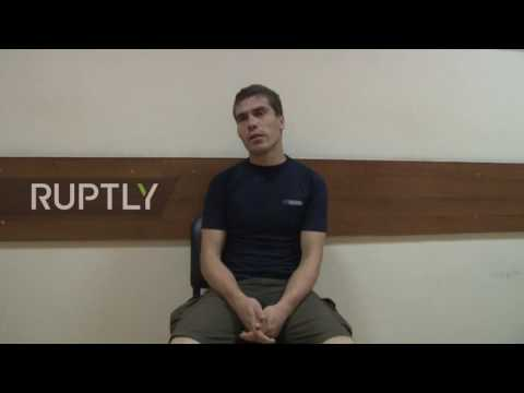 Russia: Ukrainian detainee tells of alleged plan to bomb Simferopol airport